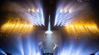 """Une image de la captation """"DJ Snake, le concert au cinéma"""". (MULTYDE)"""
