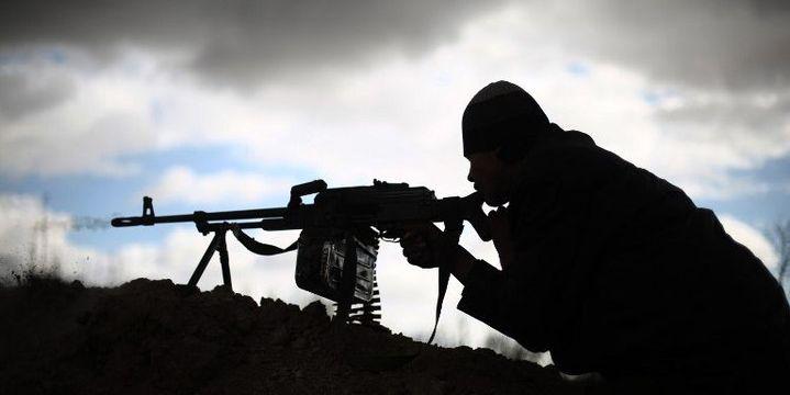 Combattant du groupe Jaish al-Islam (janvier 2016). (AMER ALMOHIBANY / AFP)