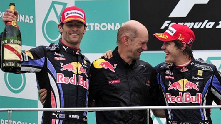 Webber - Newey - Vettel - Red Bull