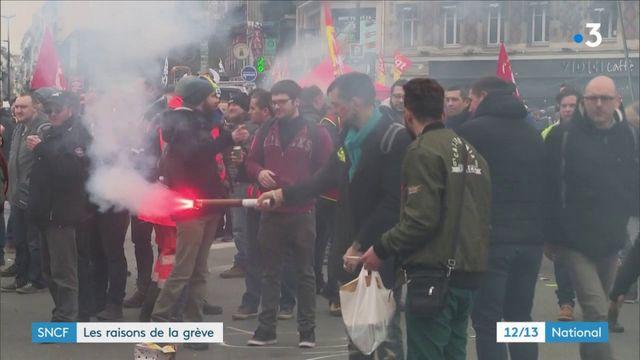 SNCF : les raisons de la grève