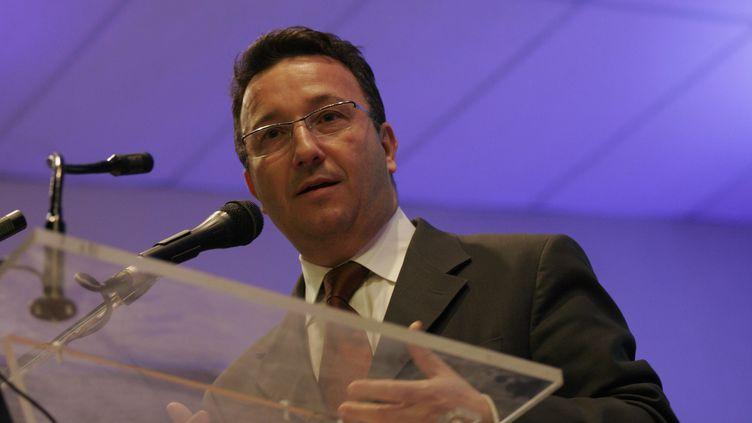 Le député Les Républicains Yves Nicolin à Roanne (Loire), le 17 mars 2010. (  MAXPPP)