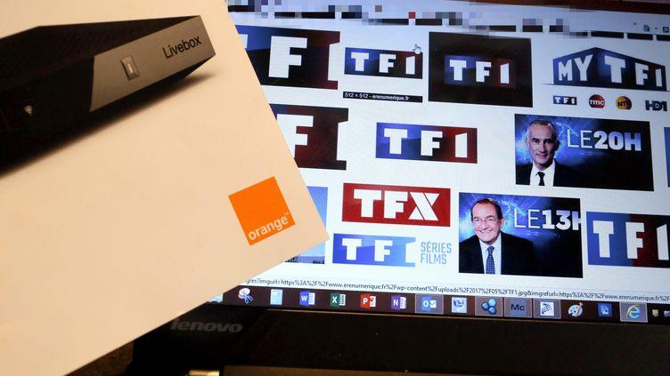 """Le PDG d'Orange menace d'interrompre la diffusion des chaînes du groupe TF1, dans une interview donnée au """"Figaro"""", le 6 mars 2018. (MAXPPP)"""
