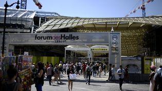 Le Forum des Halles, à Paris, le 2 juillet 2014. (STEPHANE DE SAKUTIN / AFP)