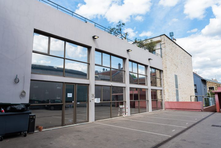 Le PS va s'installer en octobre 2018 dans ce bâtiment à Ivry-sur-Seine (Val-de-Marne). (ALEXIS SCIARD  / MAXPPP)