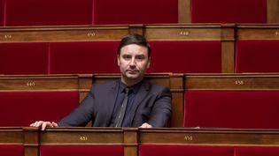 Le député Laurent Grandguillaume lors d'une séance de questions au gouvernement, dans l'hémicycle de l'Assemblée nationale, à Paris, le 22 juin 2016. (MAXPPP)