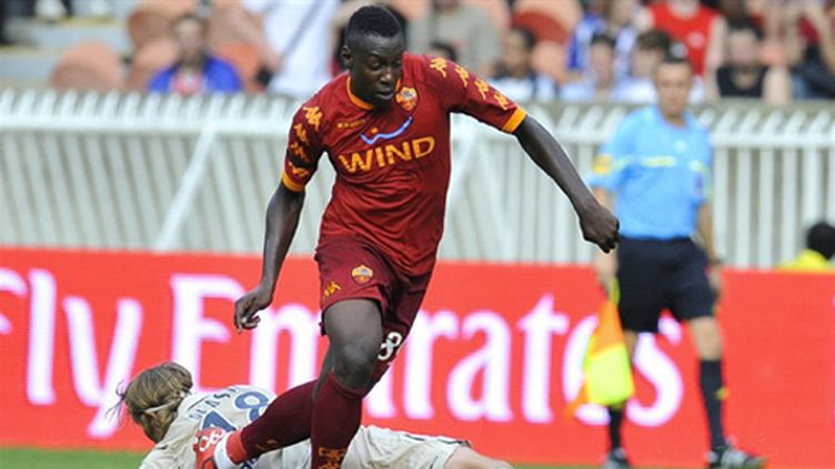 Ahmed Barusso (AS Roma) (BERTRAND LANGLOIS / AFP)