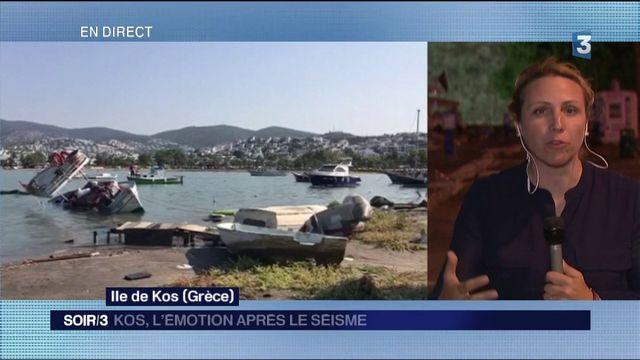 Kos : l'île se remet du séisme
