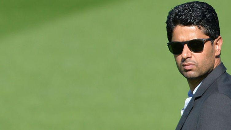 Le président du PSG, Nasser Al-Khelaïfi