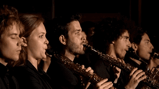 Un concert de saxophones dans la cathédrale de Strasbourg  (France 3/Culturebox)