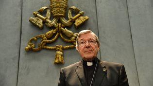Le cardinal australien George Pell, le 29 juin 2017 au Vatican. (ALBERTO PIZZOLI / AFP)