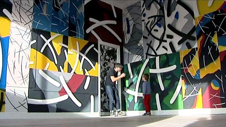 Des artistes ont investi l'Ecole Saint Joseph de Saint Jean de Luz  (France3/culturebox)