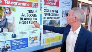 Le kiosque à journaux : garde à vue de Bernard Laporte, tenue républicaine et vélos volés  (France 2)