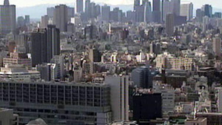 Vue de Tokyo, capitale du Japon. (France 2)