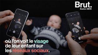 Partager des photos ou des vidéos d'un nouveau-né sur Internet semble anodin. Le spécialiste Thomas Rohmer n'est pourtant pas du même avis. (BRUT)