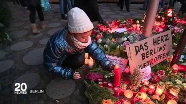Attentat à Berlin : la vie reprend son cours