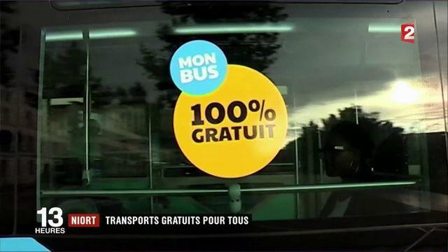 Niort : transports gratuits pour tous