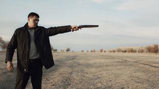 "Daniar Alshinov dans ""A Dark, Dark Man"" deAdilkhan Yerzhanov. (Copyright Arizona Distribution)"