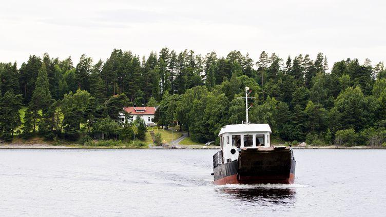 L'île norvégienne d'Utøya, en juillet 2013. (GROTT, VEGARD / NTB SCANPIX MAG)