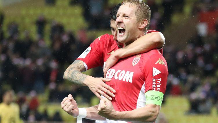 Kamil Glik sous les couleurs de l'AS Monaco. (VALERY HACHE / AFP)