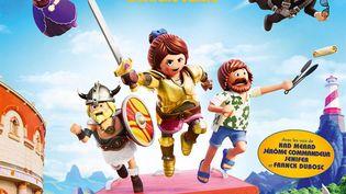 Affiche de Playmobil le film. Distributeur : Pathé. (PATHÉ / ALLOCINE)