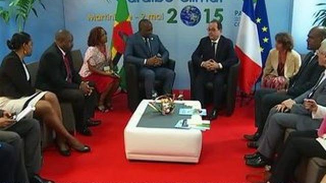 François Hollande en bataille pour le climat