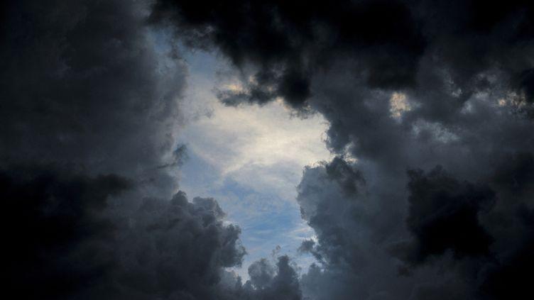 Les violents orages du samedi 15 juin avaient été prévus par Météo France, qui avait placé neuf départements en vigilance orange (photo d'illustration). (JULIEN COQUENTIN / HANS LUCAS)