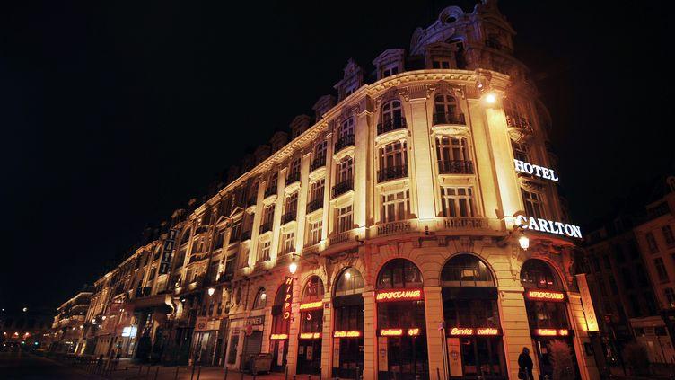 L'hôtel du Carlton de Lille (Nord), le 17 octobre 2011. (PHILIPPE HUGUEN / AFP PHOTO)