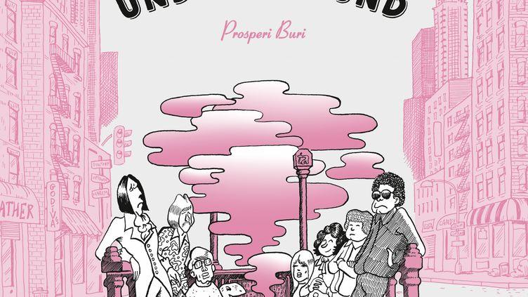 """""""Une histoire du Velvet Underground"""" de Prosperi Buri. (DARGAUD)"""