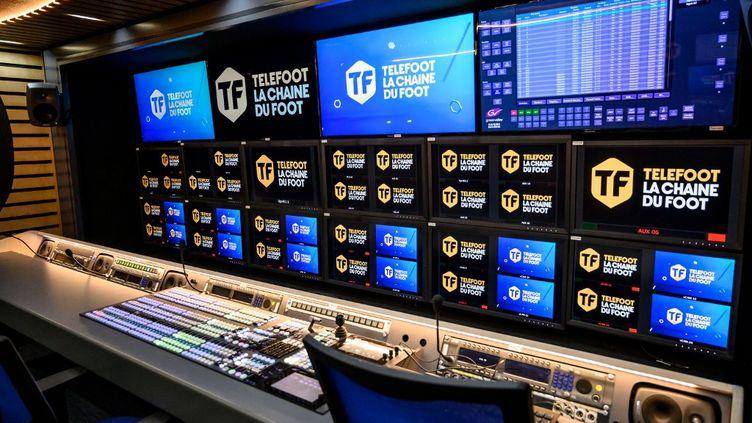 La chaîne Téléfoot va fermer (BERTRAND GUAY / AFP)