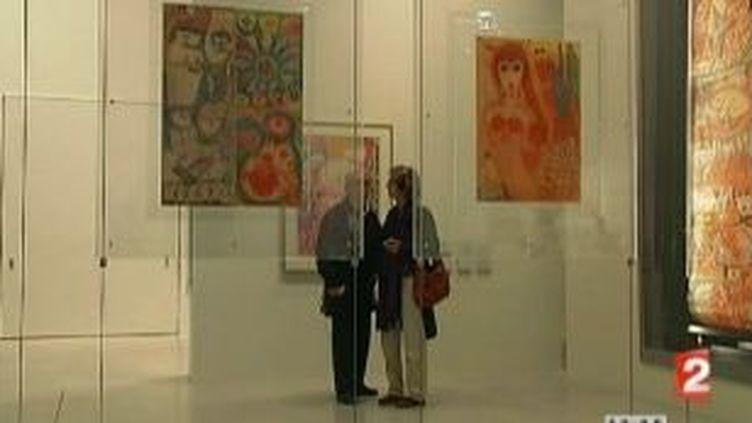 Le LAM offre un espace et une nouvelle âme à l'art brut  (Culturebox)