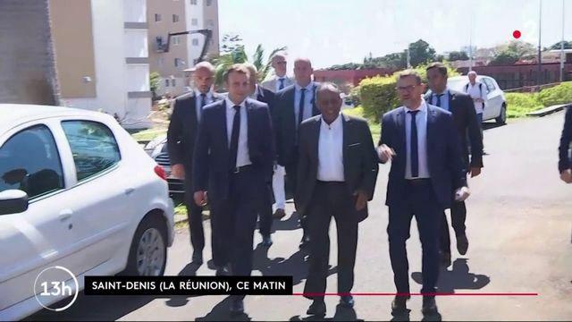 La Réunion : Emmanuel Macron interpellé par des habitants