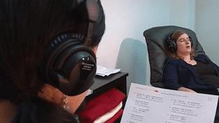 Apprentissage d'une langue sous hypnose (FRANCE 2)