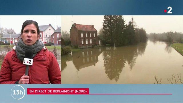 Nord : un mort en raison des inondations