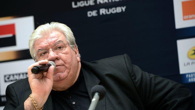 Paul Goze, le président de la Ligue nationale de rugby (LNR) (FRANCK FIFE / AFP)