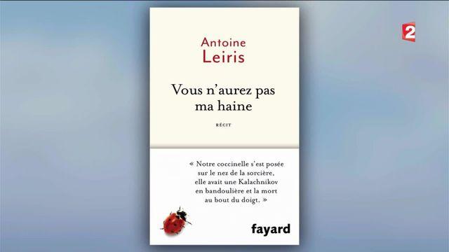 Attentats du 13 novembre : le livre plein d'amour d'Antoine Leiris