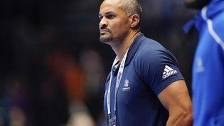 L'ex-sélectionneur de l'équipe de France de handball Didier Dinart àTrondheim, en Norvège, le 14 janvier 2020. (OLE MARTIN WOLD / NTB SCANPIX / AFP)