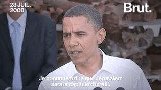 Le statut de Jérusalem, une affaire politique depuis plus de 25 ans (BRUT)