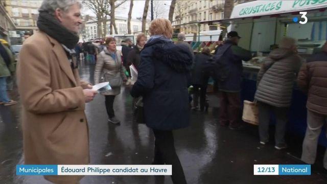 Municipales : Édouard Philippe tête de liste au Havre