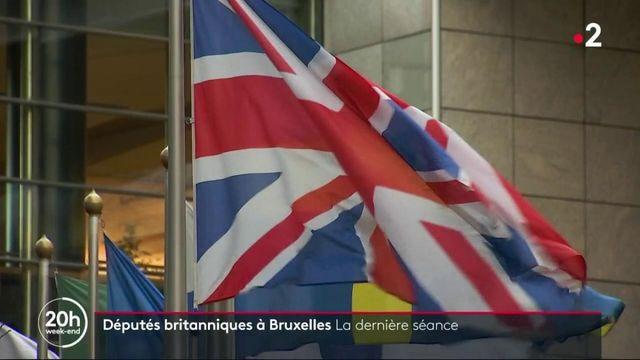 Brexit : les eurodéputés font leurs adieux au Parlement