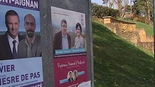 A l'Arbresle (Rhône), se jouera un duel avec entre le PS et le FN pour le deuxième tour des électionsdépartementales. ( FRANCE 2)
