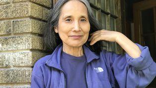 La romancière québécoise d'origine japonaise Aki Shimazaki, 2021 (Marie Royer)