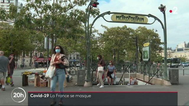 Coronavirus : le port du masque devient obligatoire dans tout Paris