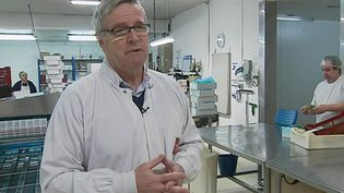 Roland Gilbert, PDG des établissements Cruzilles (France 2)