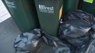 Dans certaines villes, les poubelles ne sont plus ramassées depuis plusieurs jours. C'est un mouvement lié à la contestation contre la réforme des retraites mais pas seulement : à Brest (Finistère), les éboueurs se mobilisent contre leurs conditions de travail et leurs salaires. (France 2)
