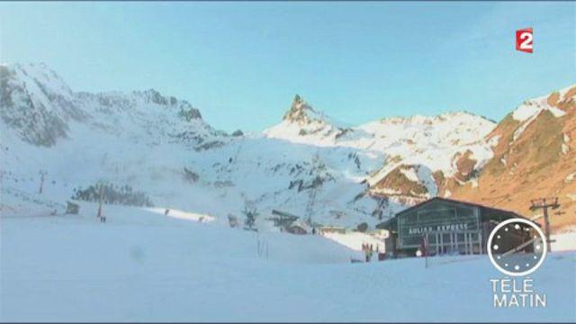 En l'absence de neige, les stations de ski tentent de s'adapter
