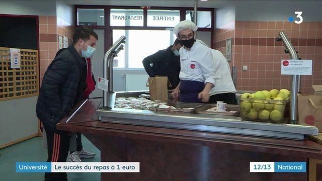 Université : des repas à 1 euro pour les étudiants