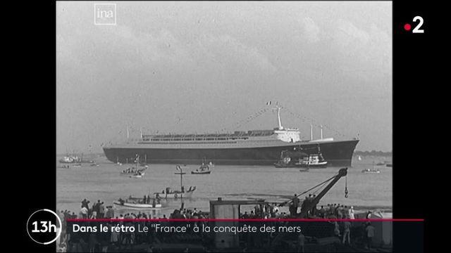 """Dans le rétro : le paquebot """"France"""", symbole du prestige à la française"""