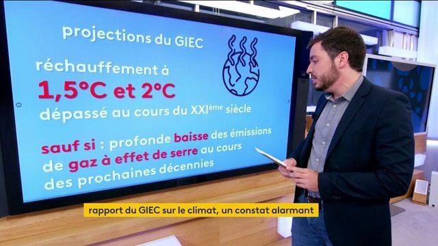 Environnement : les chiffres du GIEC sur une crise climatique qui s'aggrave