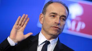Le président de l'UMP Jean-François Copé, à Paris, le 23 janvier 2014. (KENZO TRIBOUILLARD / AFP)