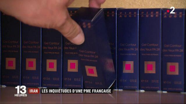 Iran : l'inquiétude d'une PME française